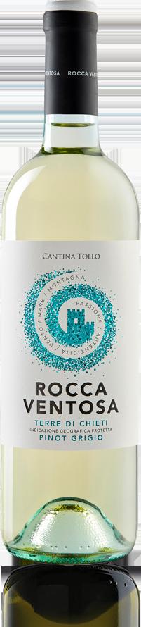 Vini d'Abruzzo: Rocca Ventosa Pinot Grigio  Cantina Tollo